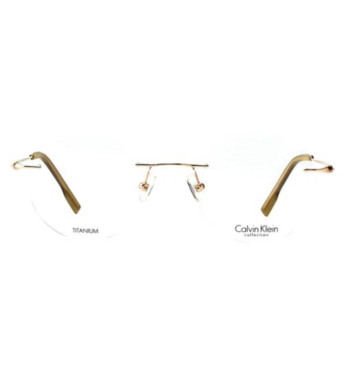 7804f3dd83316 CK CK533-1 Men s Glasses - Gold