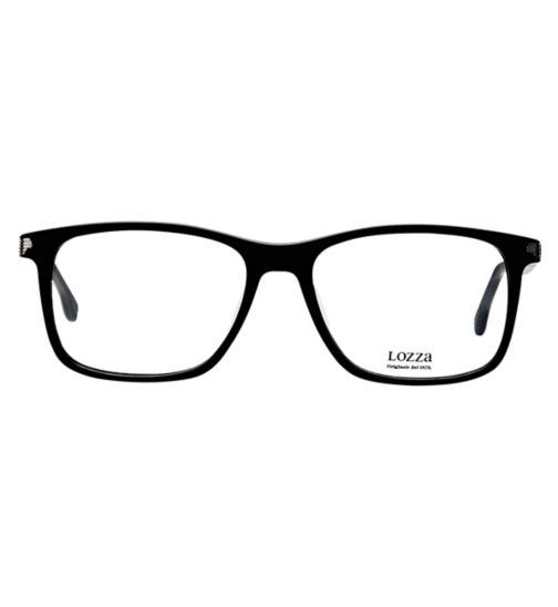 47e2a0cd505 Lozza Vintage VL4137 Men s Glasses - Black
