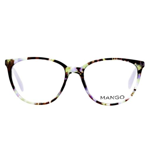 7462b166bcb Mango MNG171390 Womens Glasses-Purple tort