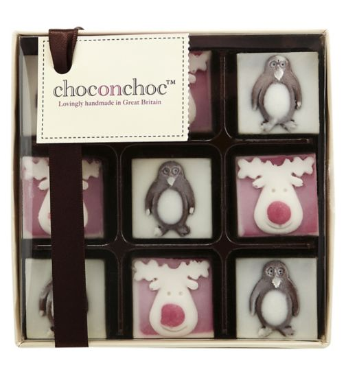 Choc on Choc Festive Box 110g
