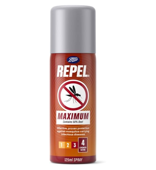 Boots Repel Maximum aerosol 125ml