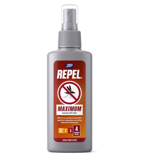 Boots Repel Maximum pump spray 120ml