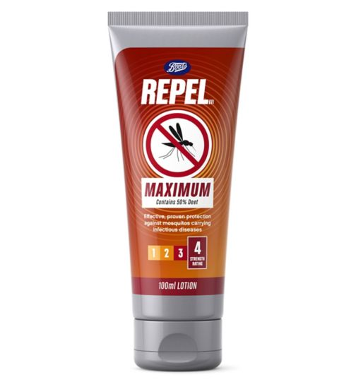 Boots Repel Maximum lotion 100ml