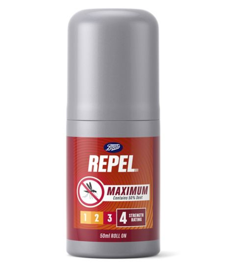 Boots Repel Max tropical roll on 50ml