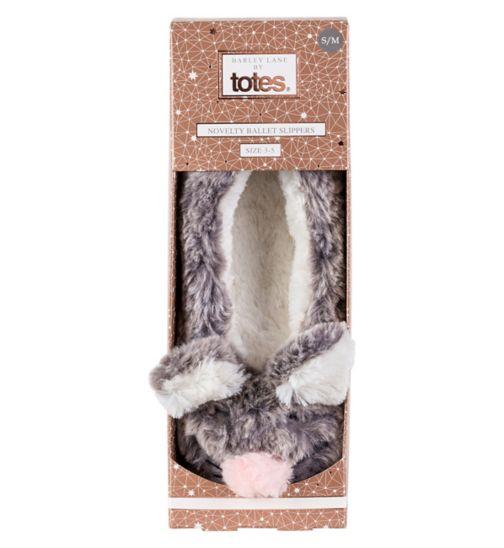 Barley Lane by Totes Mouse Ballet Slipper - Small/Medium 3-5
