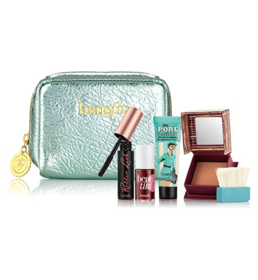 Benefit Work kit, girl! Work-day essentials makeup kit