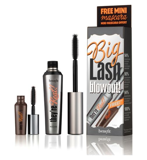 BenefitBIG Lash Blowout! Lengthening Mascara Duo