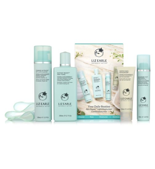 Liz Earle Essentials Combination Oily Kit