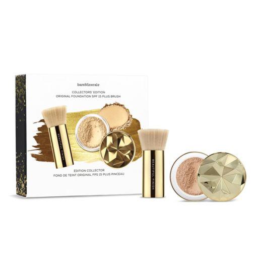bareMinerals Collector's Edition Original Mineral Foundation SPF15 plus Brush Medium Beige