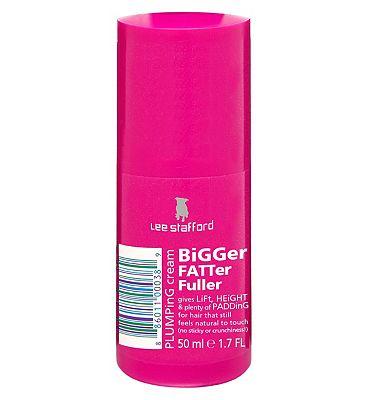 Lee Stafford Bigger Fatter Fuller Plumping Cream 50ml