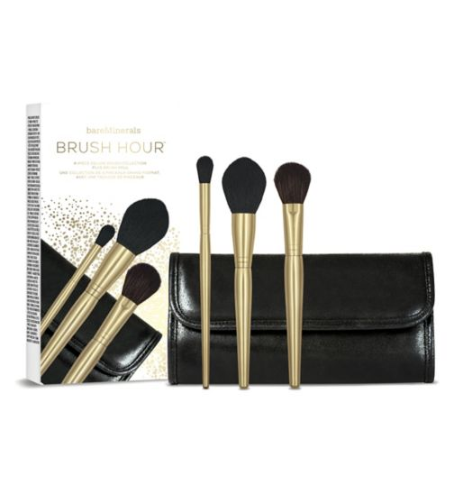 Bare Minerals Brush Hour 4-Piece Deluxe Brush Collection