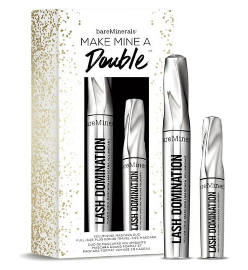 Bare Minerals Make Mine A Double Full-Size & Travel-Size Bestselling Mascara