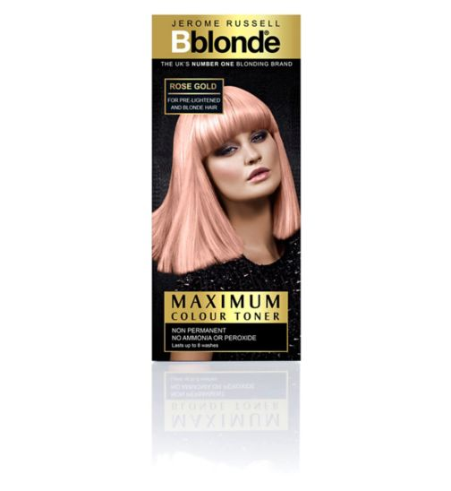 Jerome Russell Bblonde Maximum Colour Toner Rose Gold