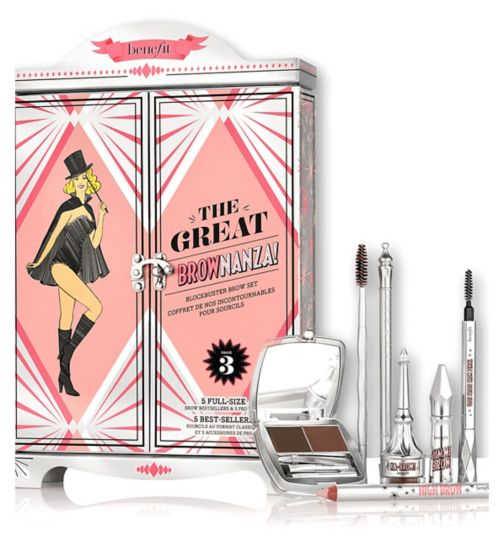 Benefit The Great BROWnanza! Blockbuster Brow Set 05