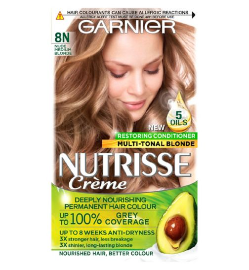 Garnier Nutrisse Herbashine Is Semi Permanent Ammonia Free Haircolour Dye With Bamboo Extract