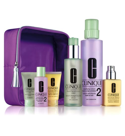 Clinique Great Skin Home and Away Skin Type 1/2