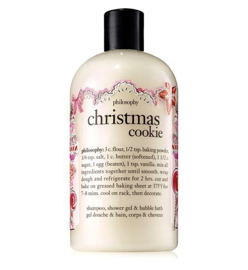 Philosophy Christmas Cookie Shampoo, Shower Gel & Bubble Bath 480ml