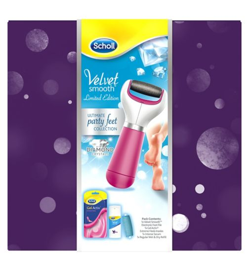 Scholl Velvet Smooth Ultimate Party Feet Collection