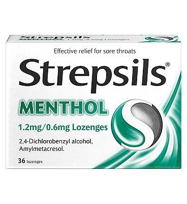 Strepsils Menthol - 36 lozenges