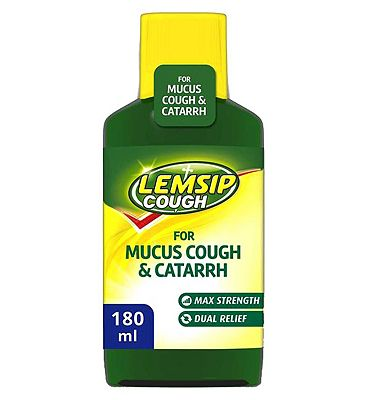 Lemsip mucus cough & catarrh 180ml