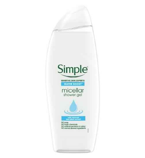 Simple Micellar Water Shower Gel 500ml