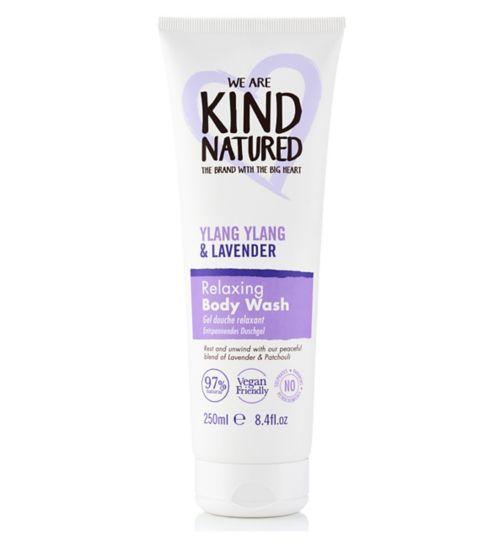 Kind Natured Relaxing Ylang Ylang & Lavender Body Wash 250ml