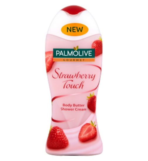 Palmolive Gourmet Strawberry Touch Body Butter Shower Cream 250ml