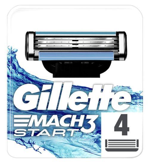 Gillette Mach 3 Start Razor Blades 4s
