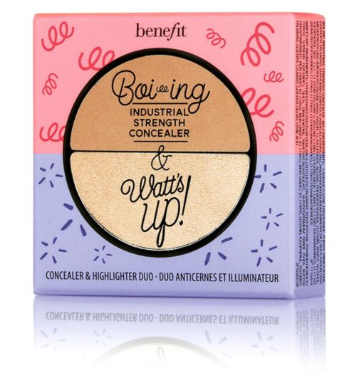 Benefit Boi-ing Industrial Strength Concealer & Watt's Up! Concealer & Highlighter Duo