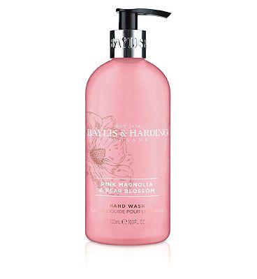 Baylis & Harding Pink Magnolia & Pear Blossom Handwash 300ml
