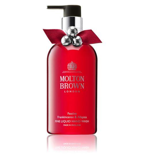 Molton Brown Festive Frankincense & Allspice Fine Liquid Hand Wash