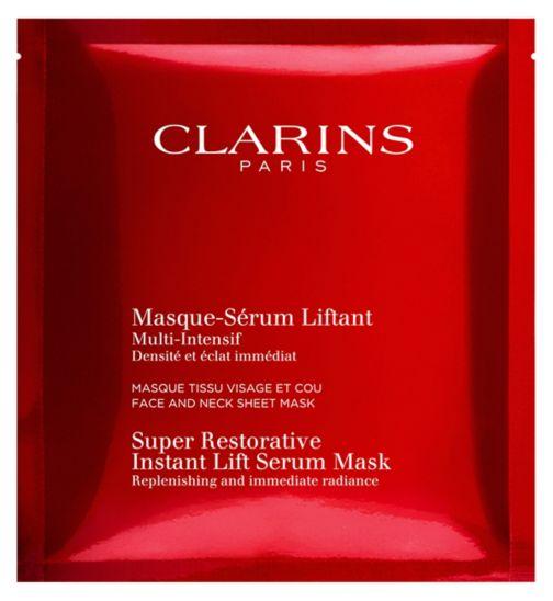 Clarins Super Restorative Instant Lift Serum-Mask Box of 5