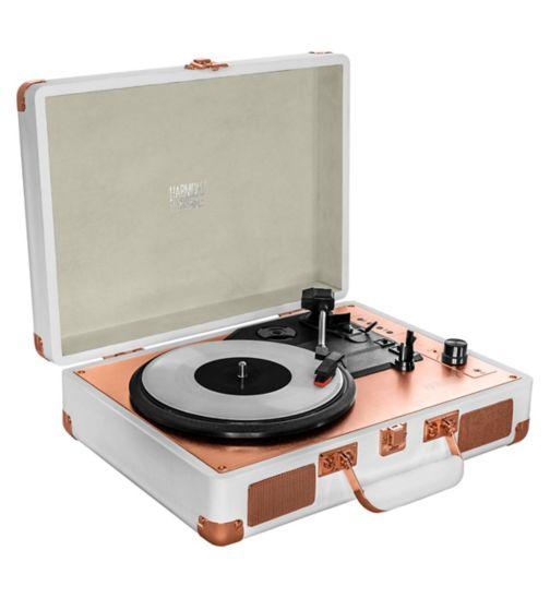 Harmony Turntable Suitcase Vinyl Record Player