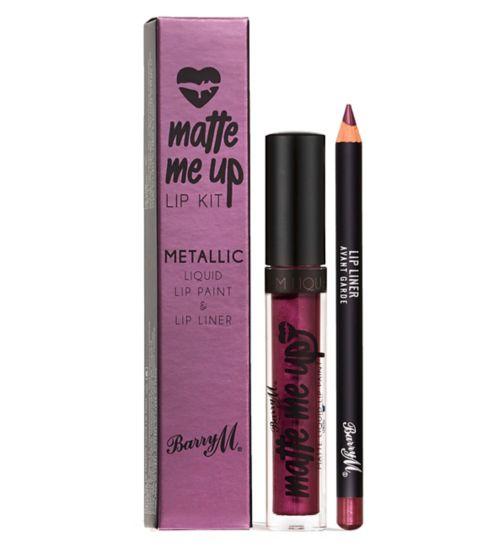 Barry M Matte Metallic Lip Kit - Avant Garde