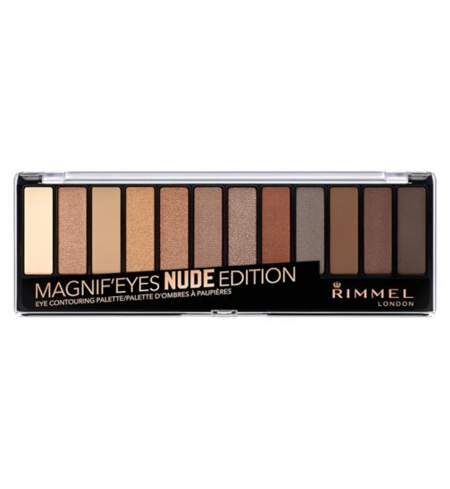 Rimmel London 12 pan eyeshadow nude edition