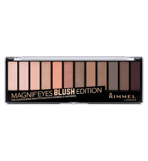 Rimmel London 12 pan eyeshadow blushed edition