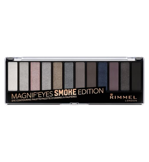 Rimmel London 12 pan eyeshadow smokey edition