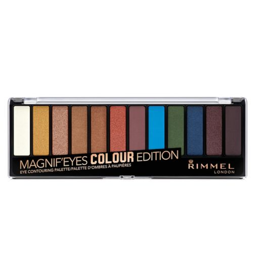 Rimmel London 12 pan eyeshadow bold edition