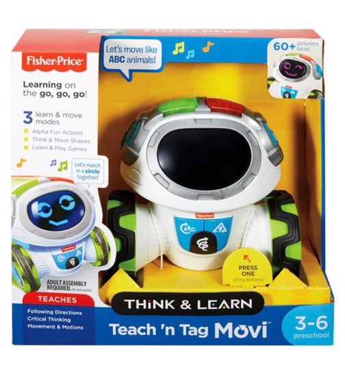 Fisher Price Think & Learn Teach n Tag Movi