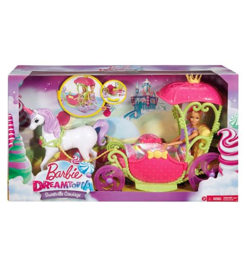 Barbie Dreamtopia Sweetville Carriage