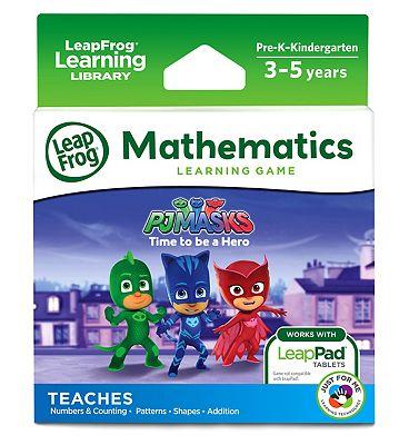 LeapFrog Mathematics Learning Game   PJ Masks