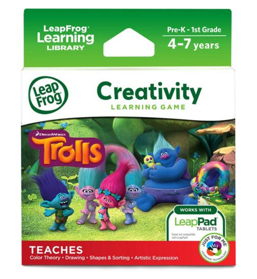 LeapFrog Learning Game: Trolls