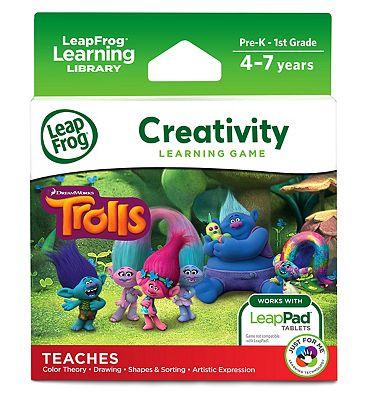 LeapFrog Creativity Learning Game   Trolls