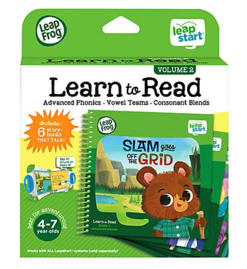 LeapStart Level 3 Learn to Read Boxset Vol 2