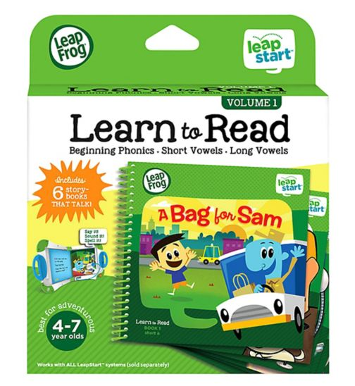LeapStart Level 3 Learn to Read Boxset Vol 1