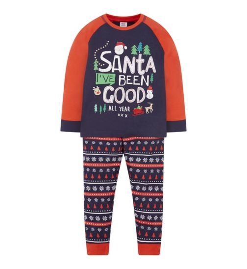 Mini Club Xmas Santa Pyjama