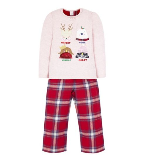 Mini Club Xmas Check Pyjama