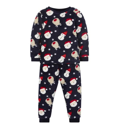 Mini Club Xmas Fluffy Pyjama