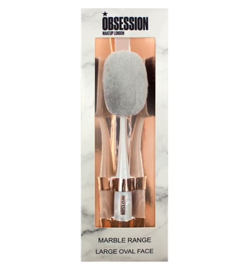 Obession By Revolution Marble Large Oval Brush