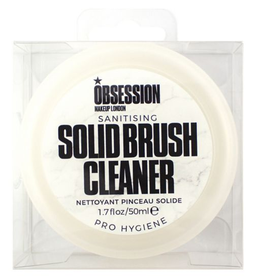 Obsession By Revolution solid brush cleanser